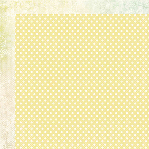 Kaisercraft - Lil' Primrose Collection - 12 x 12 Double Sided Paper - Fancy Dress