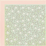 Kaisercraft - Lil' Primrose Collection - 12 x 12 Double Sided Paper - Hand Me Downs