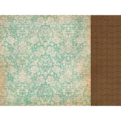 Kaisercraft - These Days Collection - 12 x 12 Double Sided Paper - Ancestry