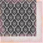 Kaisercraft - Tigerlilly Collection - 12 x 12 Double Sided Paper - Coral