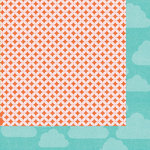 Kaisercraft - Fine and Sunny Collection - 12 x 12 Double Sided Paper - Cloudy