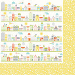 Kaisercraft - Fine and Sunny Collection - 12 x 12 Double Sided Paper - Avenue