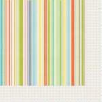 Kaisercraft - Fine and Sunny Collection - 12 x 12 Double Sided Paper - Rainbow