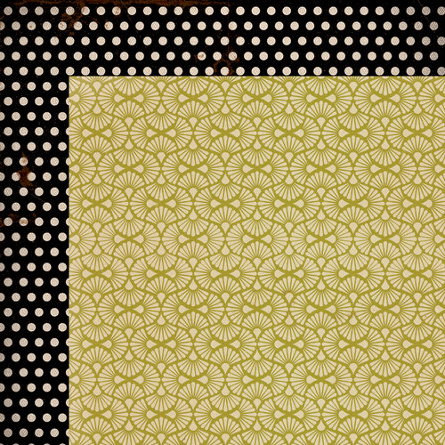 Kaisercraft - Miss Match Collection - 12 x 12 Double Sided Paper - Bric-a-brac