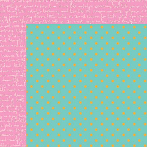 Kaisercraft - Butterfly Kisses Collection - 12 x 12 Double Sided Paper - Sprinkles
