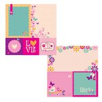 Kaisercraft - Butterfly Kisses Collection - 12 x 12 Double Sided Paper - Fun