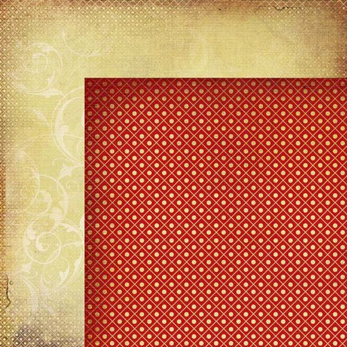 Kaisercraft - Twig and Berry Collection - Christmas - 12 x 12 Double Sided Paper - Eve