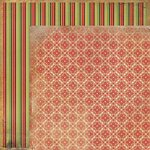 Kaisercraft - Twig and Berry Collection - Christmas - 12 x 12 Double Sided Paper - Myrrh