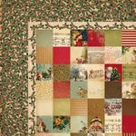 Kaisercraft - Turtle Dove Collection - Christmas - 12 x 12 Double Sided Paper - Maids