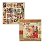 Kaisercraft - Turtle Dove Collection - Christmas - 12 x 12 Double Sided Paper - Lords