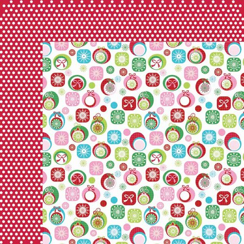 Kaisercraft - Mint Twist Collection - Christmas - 12 x 12 Double Sided Paper - Twine