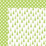 Kaisercraft - Mint Twist Collection - Christmas - 12 x 12 Double Sided Paper - Peppermint