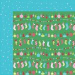 Kaisercraft - Mint Twist Collection - Christmas - 12 x 12 Double Sided Paper - Trimmings