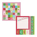 Kaisercraft - Mint Twist Collection - Christmas - 12 x 12 Double Sided Paper - North Pole