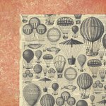 Kaisercraft - Periwinkle Collection - 12 x 12 Double Sided Paper - Secret