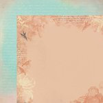 Kaisercraft - Periwinkle Collection - 12 x 12 Double Sided Paper - Breathe