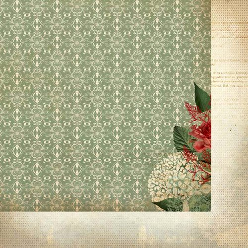 Kaisercraft - Just Believe Collection - Christmas - 12 x 12 Double Sided Paper - Hymn