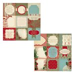 Kaisercraft - Just Believe Collection - Christmas - 12 x 12 Double Sided Paper - Snowflake