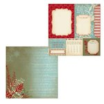 Kaisercraft - Just Believe Collection - Christmas - 12 x 12 Double Sided Paper - Wish List