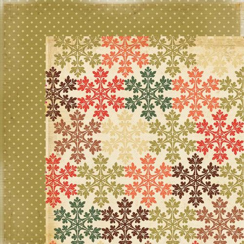 Kaisercraft - Merry and Bright Collection - Christmas - 12 x 12 Double Sided Paper - Enjoyable