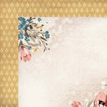 Kaisercraft - Forget-Me-Not Collection - 12 x 12 Double Sided Paper - Queen Bee