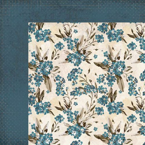 Kaisercraft - Forget-Me-Not Collection - 12 x 12 Double Sided Paper - Bluebell