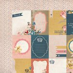 Kaisercraft - Forget-Me-Not Collection - 12 x 12 Double Sided Paper - Tulip
