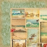Kaisercraft - Tropicana Collection - 12 x 12 Double Sided Paper - Summery