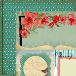 Kaisercraft - Tropicana Collection - 12 x 12 Double Sided Paper - Breeze