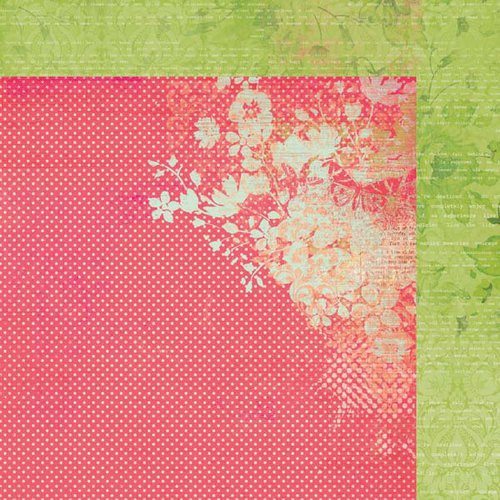 Kaisercraft - Secret Admirer Collection - 12 x 12 Double Sided Paper - Flirtatious