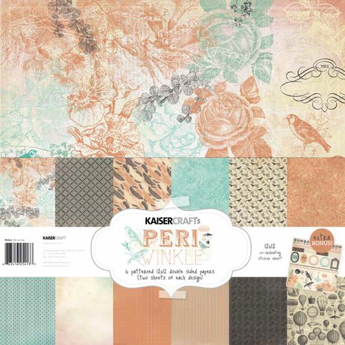 Kaisercraft - Periwinkle Collection - 12 x 12 Paper Pack