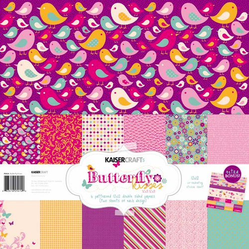 Kaisercraft - Butterfly Kisses Collection - 12 x 12 Paper Pack