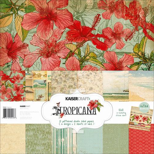 Kaisercraft - Tropicana Collection - 12 x 12 Paper Pack