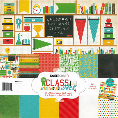 Kaisercraft - Class Act Collection - 12 x 12 Paper Pack