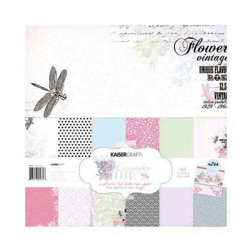Kaisercraft - Lavender Haze Collection - 12 x 12 Paper Pack
