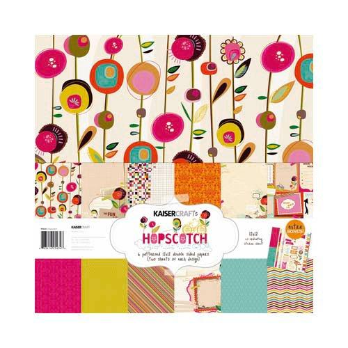Kaisercraft - Hopscotch Collection - 12 x 12 Paper Pack