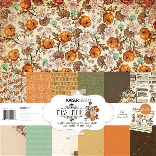 Kaisercraft - Miss Empire Collection - 12 x 12 Paper Pack