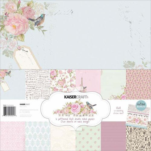 Kaisercraft - True Romance Collection - 12 x 12 Paper Pack