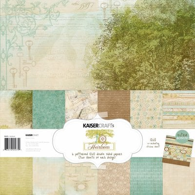 Kaisercraft - Heirloom Collection - 12 x 12 Paper Pack