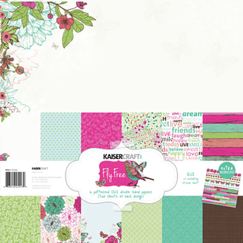 Kaisercraft - Fly Free Collection - 12 x 12 Paper Pack