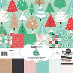 Kaisercraft - Holly Jolly Collection - Christmas - 12 x 12 Paper Pack