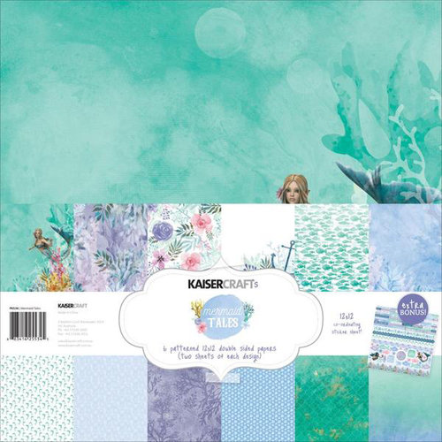 Kaisercraft - Mermaid Tails Collection - 12 x 12 Paper Pack