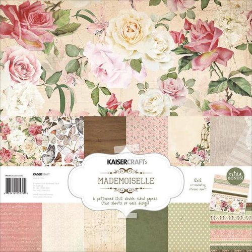 Kaisercraft - Mademoiselle Collection - 12 x 12 Paper Pack