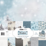 Kaisercraft - Frosted Collection - Christmas - 12 x 12 Paper Pack