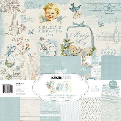 Kaisercraft - Peek-A-Boo Collection - 12 x 12 Paper Pack - Boy