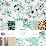 Kaisercraft - Mint Wishes Collection - Christmas - 12 x 12 Paper Pack