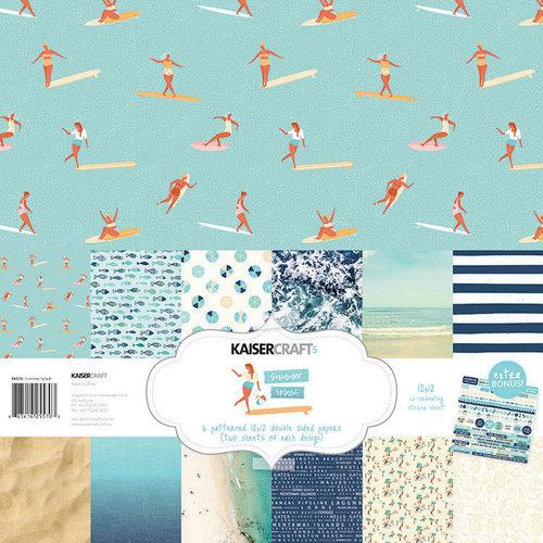Kaisercraft - Summer Splash Collection - 12 x 12 Paper Pack