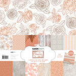 Kaisercraft - Peachy Collection - 12 x 12 Paper Pack