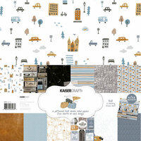Kaisercraft - Let's Go Collection - 12 x 12 Paper Pack