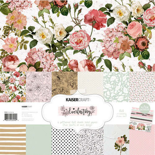 Kaisercraft - Everlasting Collection - 12 x 12 Paper Pack